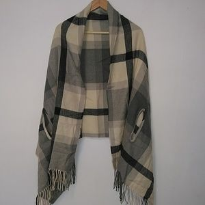 NWT J. Crew Factory Cape Scarf
